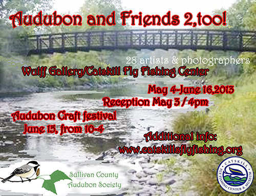 Audubon and Friends Too - poster